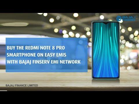 Buy The Redmi Note 8 Pro On Easy EMIs With Bajaj Finserv EMI Network