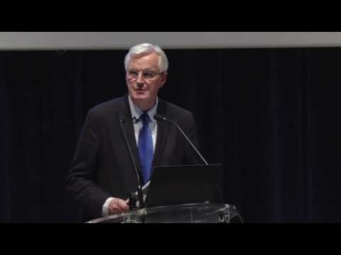 Conférence de Michel Barnier - L'Europe, un projet à réinventer
