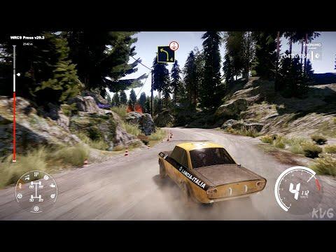 WRC 9 FIA World Rally Championship - Ouninpohja Reverse (Neste Rally Finland) - Gameplay  