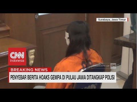 Penyebar Berita Hoaks Gempa di Pulau Jawa Ditangkap Polisi