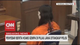 Download Video Penyebar Berita Hoaks Gempa di Pulau Jawa Ditangkap Polisi MP3 3GP MP4