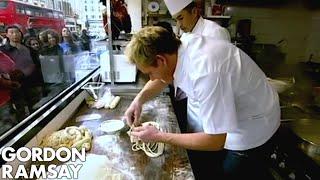 Noodle Pulling - Gordon Ramsay
