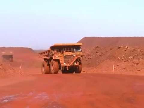 Iron Ore Mining in the Pilbara