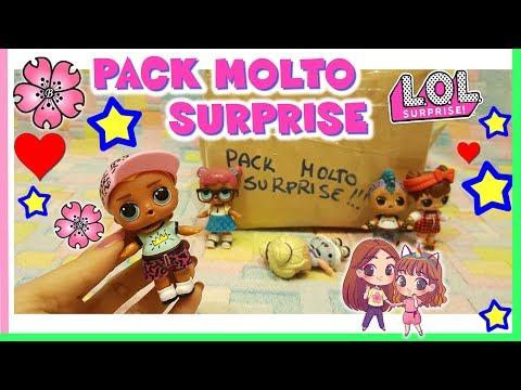 REAZIONE DI LARA al LOLLO SCRIBBLES!! Unboxing Pack Molto LOL Surprise! by Lara e Babou