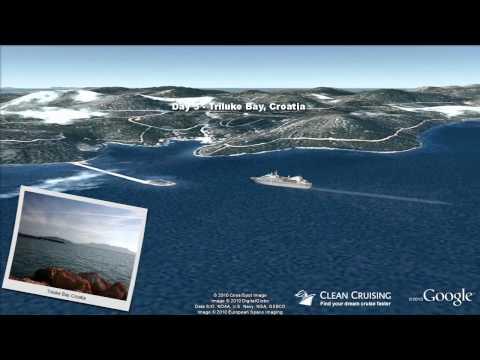 """Seabourn Spirit video """"7 nt Gems of Adriatic"""" ex Venice"""