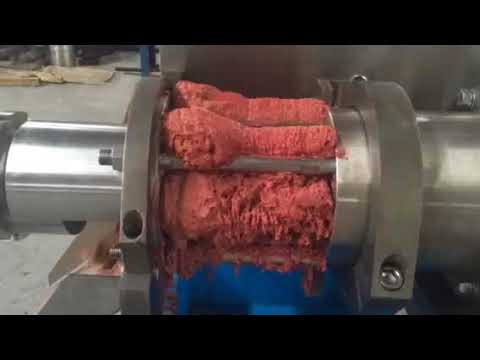 automatic meat and bone separating machine