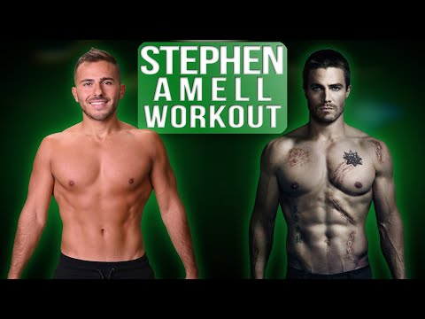 I Trained Like Stephen Amell For One Week | Stephen Amell's Green Arrow Workouts Revealed!