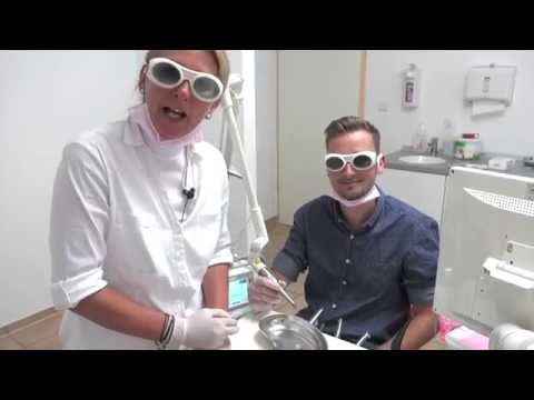 Painless root canal treatment with the Er:YAG-Laser, PIPS ®