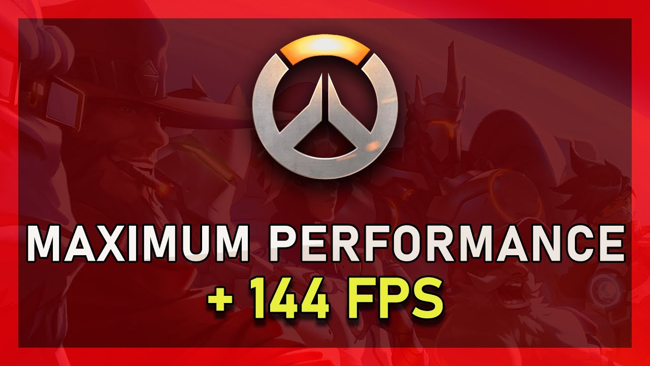 Improve FPS in Overwatch for Low-End PC's
