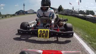 2020 KartStars Innisfil Briggs Sr. Heat 1