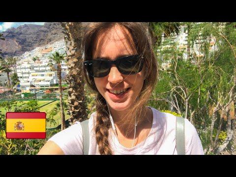 Как проходит карантин в Испании. Прогулка по городку на о. Тенерифе, Канарские острова. Апрель 2020