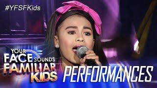 Your Face Sounds Familiar Kids: Lyca Gairanod as Donna Cruz - Kapag Tumibok ang Puso