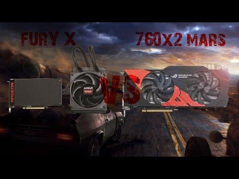 Fury X VS Mars 760x2 with Xeon X5450 Overclocked to the max