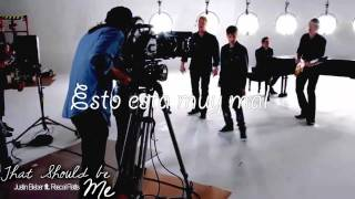 Justin Bieber ft. Rascal Flatts - That Should Be Me - Official Video [Traducido al Español]