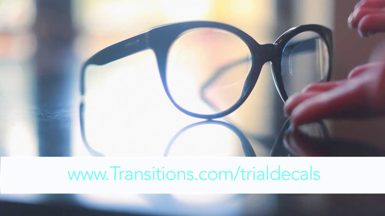 88bc46552d Get a pair of free Transitions Trial Decals  ThroughANewLens - YouTube