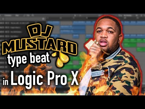 How To Make A DJ Mustard Type Beat In Logic Pro X | Music Production Tutorial