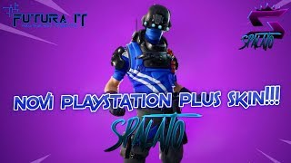 NEW PlayStation Plus SKIN!!! -#Fortnite #Balkan #Live-goal 8100 subsites! + 1155 Victory!!! #536
