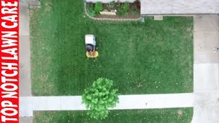 Top Notch Update, Cutting My Own Grass, DJI Phantom 3 is Fixed, Lawn Care Vlog #127