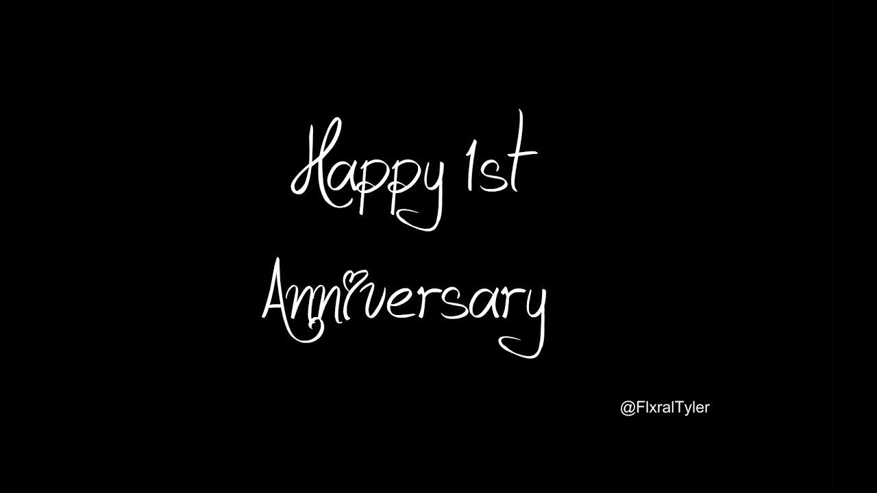Happy st anniversary tyler and jenna joseph youtube