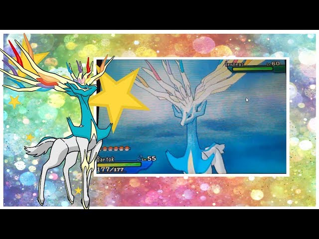 LIVE!! Shiny Xerneas after 1,330 SRs in Ultra Sun! (Full Odds)