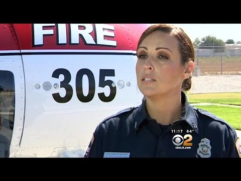First Woman CAL FIRE Pilot Blazes Trail