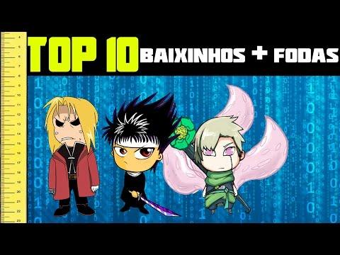 TOP 10 │Baixinhos mais fodas dos animes
