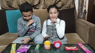 تجربة تذوق الحلويات حلو ولا حامض !!