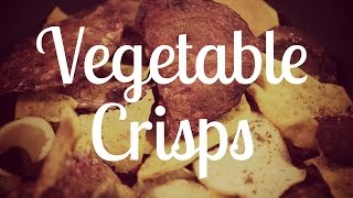 Homemade Vegetable Crisps | Microwave In Minutes!