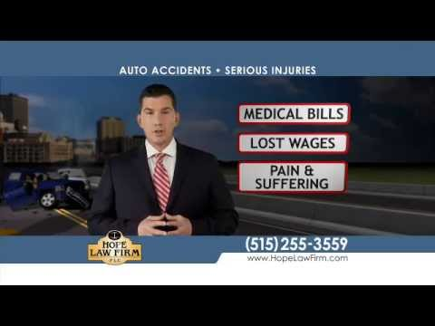 West Des Moines Auto Accident Attorneys | Hope Law Firm