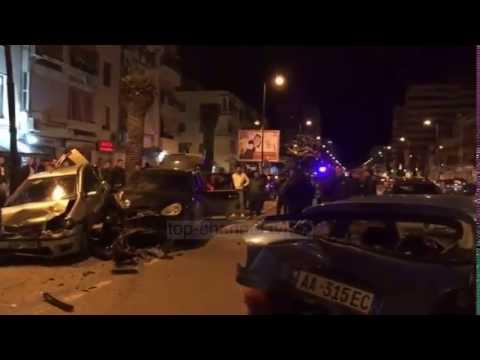Aksident në Vlorë, përfshihen pesë mjete - Top Channel Albania - News - Lajme