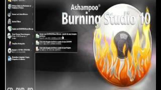 como gravar um jogo de ps2 com o ashampoo burning studio 2010