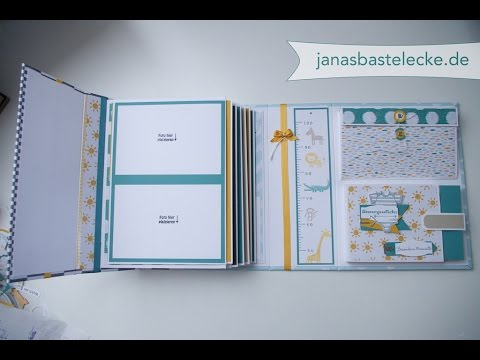 hardcover erinnerungsalbum f r babys 1 jahr youtube. Black Bedroom Furniture Sets. Home Design Ideas