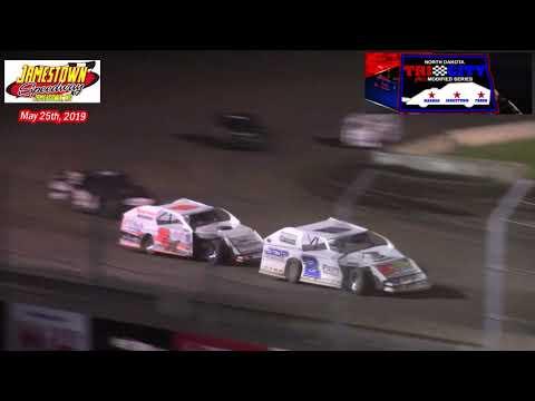 Jamestown Speedway ND Tri-City IMCA Modified Series A-Main (5/25/19)