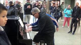 CROWD WITNESS BEST PIANO SWAP EVER
