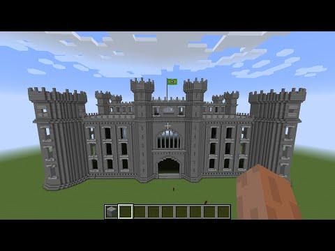 Minecraft Como Fazer um Castelo Gigante