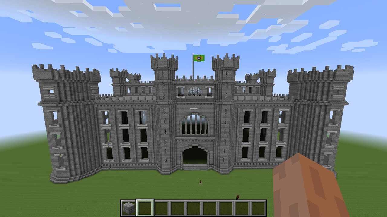 Castle Build in Minecraft