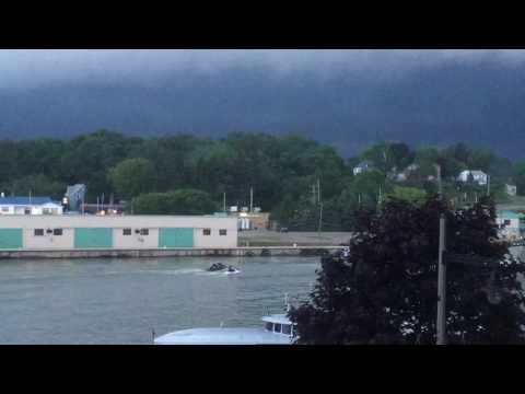 Incoming Storm - Port Stanley