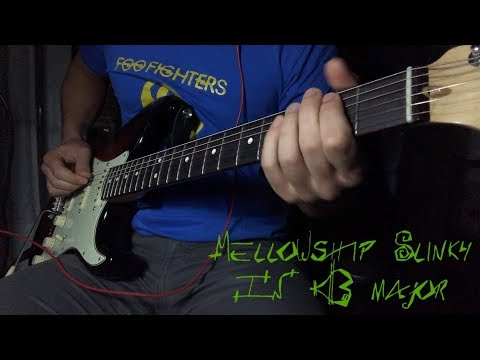 Red Hot Chili Peppers - Mellowship Slinky in B Major [Guitar Cover] mp3