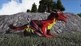 Ark Coop Map Crystal #24: Bắt được e rockdrake rồi sự trở lại từ lòng đất