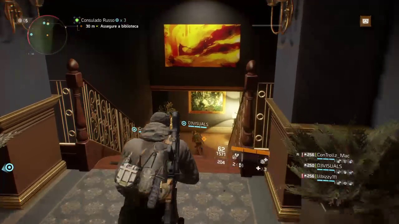 division how to get 256 gear