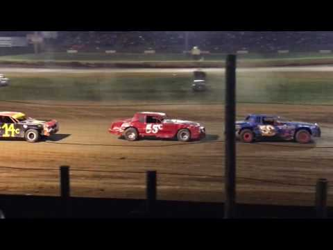 9-3-16 Bomber B Main at Lincoln Park Speedway