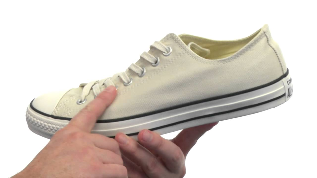 3c185644061 Converse Chuck Taylor® All Star® Washed Twill Ox SKU:#8331743 - YouTube