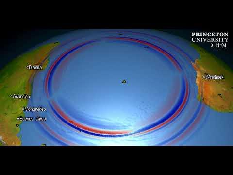 Magnitude 5.7 Quake, TRISTAN DA CUNHA REGION
