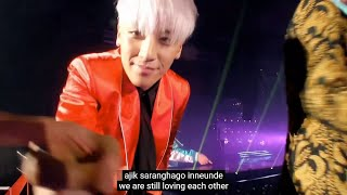 Last Farewell 마지막 인사 [Eng Sub + Rom Hangul + 한글 자막] - BIGBANG live 2015 MADE Final in Seoul