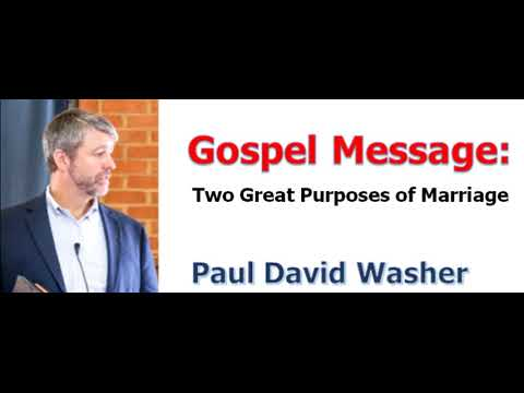 paul washer marriage and the gospel