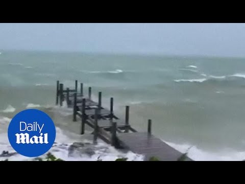 Hurricane Dorian Intensifies And Approaches The Bahamas