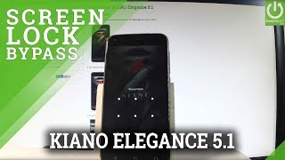 How to Hard Reset KIANO Elegance 5.1 - Remove Pattern / Format
