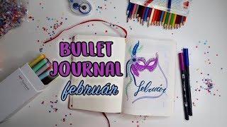 Tervezzünk! - Bullet Journal Február | Viszkok Fruzsi