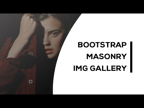 Simple Bootstrap Masonry Image Gallery