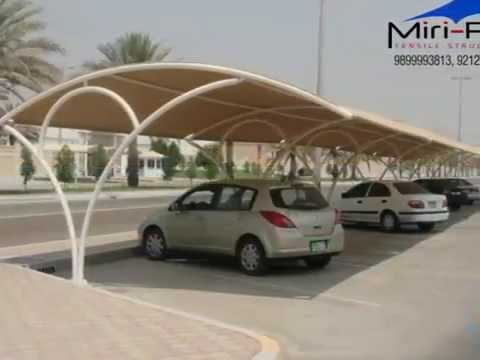 Vehicle Parking Shed Manufacturers,Suppliers,Contractors,Delhi,India,Temporary or Permanent solution